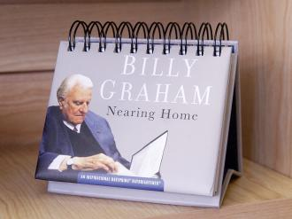 20211 Bordkalender - Billy Graham Nearing Home