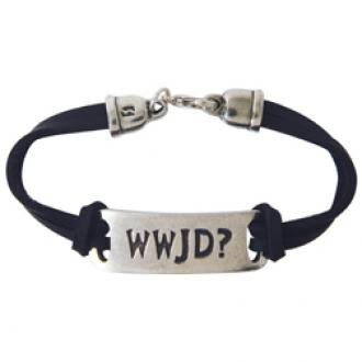 510-327-9320 Fashion Christian Bracelet - WWJD?