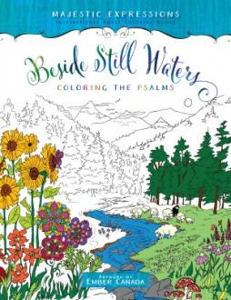 551385 Fargebok - Beside Still Waters (Coloring The Psalms)