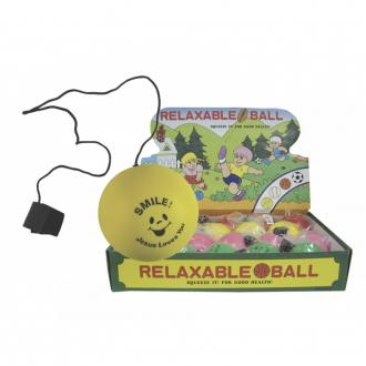52297 Stressball m/stropp - Jesus Loves You (assorterte farger)