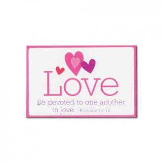 Magnet - Love, Be devoted to one another in love.