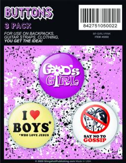 80102099 Buttons - Girls Pack