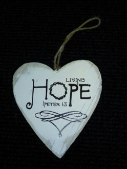 80102721 Hjerte - Living Hope