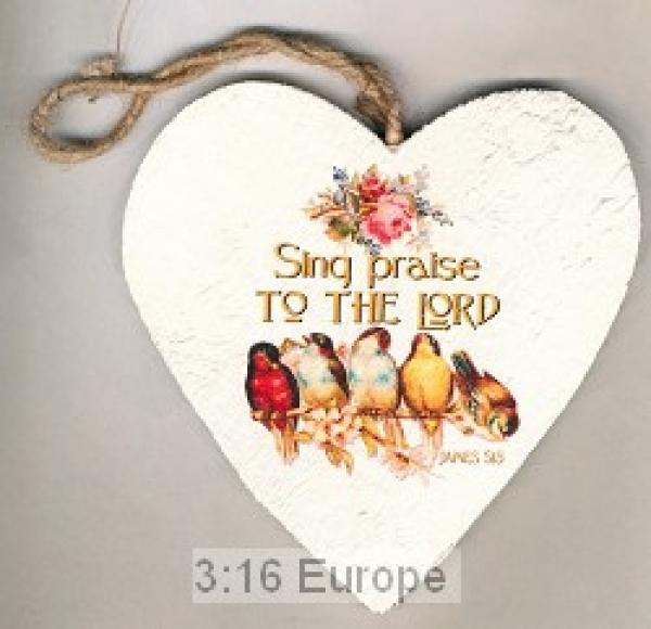 80104093 Hjerte i Tre - Sing Praise To The Lord