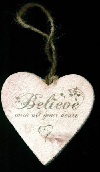 Hjerte i tre - Believe With All Your Heart