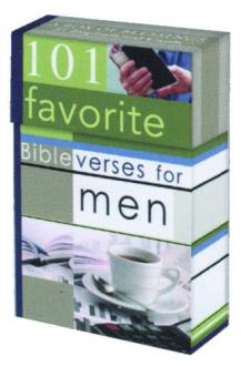 BX 051 Blessing Box - 101 Favorite Bibelverses for Men