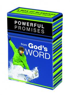 BX 063 Blessing Box - Powerful Promises From God's Word