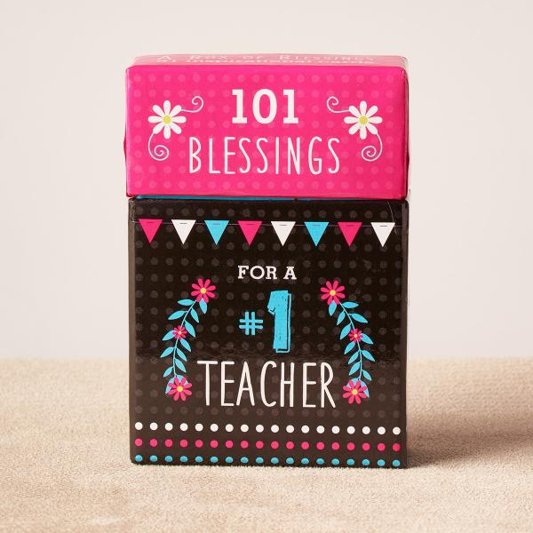 BX 105 Blessing Box - 101 Blessings For a Nr 1 Teacher