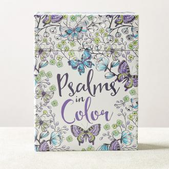 CBX 005 Boxed Coloring Cards - Psalms in Color