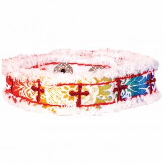 CHCB 110 Cherished Canvas Bracelet - Rainbow and Crosses