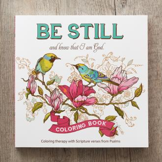 CLR 004 Fargebok - Be Still And Know That I Am God
