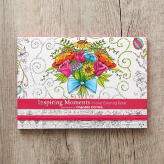 CLR 021 Pocket Coloring Book - Inspiring Moments