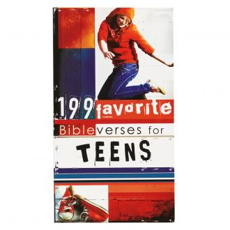 FBV 004 Pocketbok - 199 Favorite Bibelverses For Teens