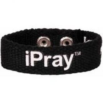 FGCB 109 Armbånd - iPray Faith Gear Canvas Bracelet