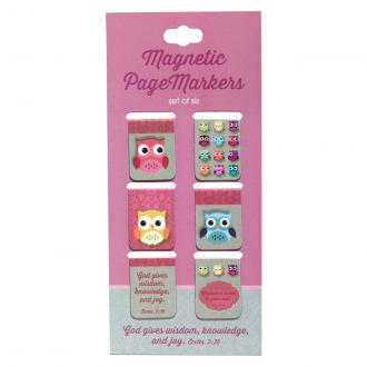 MGB 033 Magnetisk Bokmerke - Words of Wisdom (6 pack)