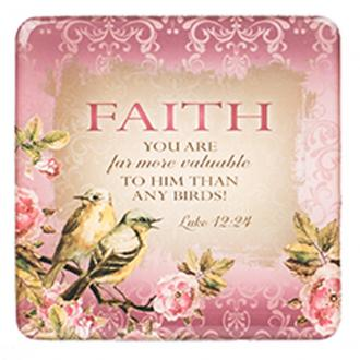 MGE 043 Magnet - Faith, You Are More Valuable To Him Than Any Bird
