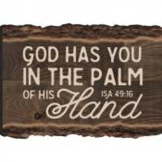 MGT 0087 Magnet - God Has Made You In The Palm Of His Hans