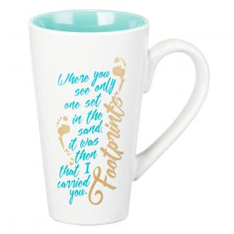 MUG 466 Kopp - Footprints (450 ml)