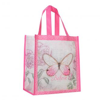 TOT 065 Shopping Bag - Believe Butterfly