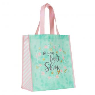 TOT 073 Shopping Bag - Let Your Light Shine