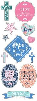 10641 Klistremerker - Hope Planner Stickers 25 stk