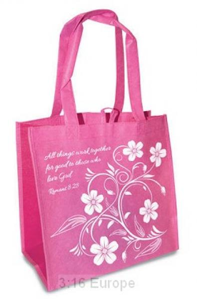 23796 Shopping Bag - All Things Work Together For Good To Those Who Love God