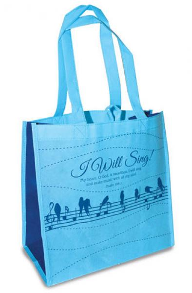 23797 Shopping Bag - I Will Sing!