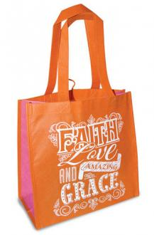 23800 Shopping Bag - Faith Love & Amazing Grace