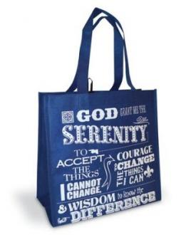 23933 Shopping Bag - Serenity Prayer