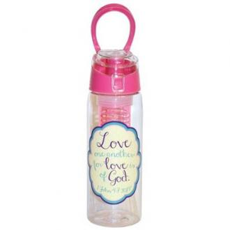 24165 Drikkeflaske Infuser - Love One Another For Love Is Of God