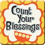 24455 Magnet - Count Your Blessings