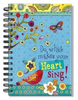 24660 Notiskbok Spiralbundet - Do What Makes Your Heart Sing!