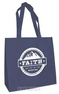 25031 Shopping Bag - Faith Can Move Mountains