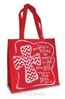 27346 Shopping Bag - God So Loved The World.... John 3:16
