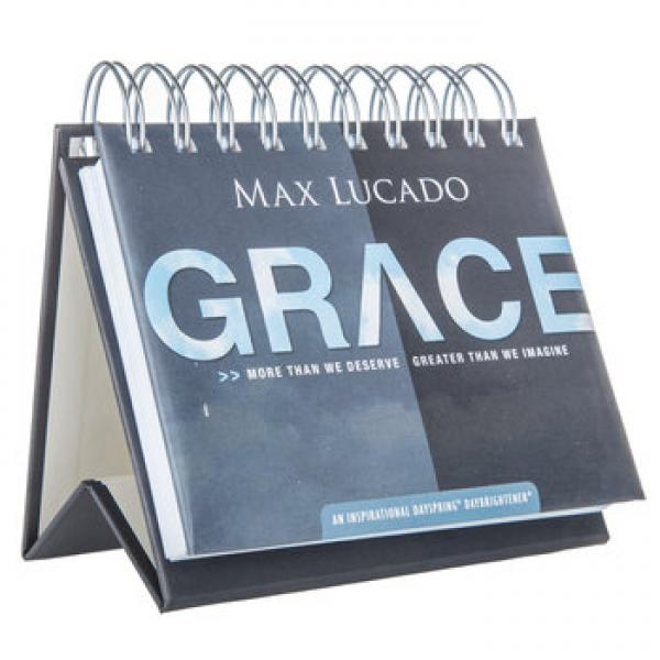 52101 Bordkalender - Grace (Max Lucado) - Dayspring