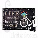 52584 Magnetisk Puslespill (20 br) - Life Is A Beautiful Journey With God