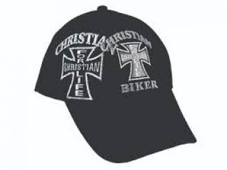 Cap Christian Biker - Black