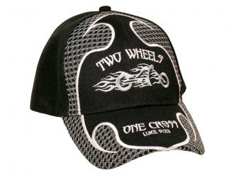 Cap - Two Wheels One Cross (Luke 9:23)