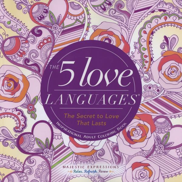 552603 Fargebok - The 5 Love Languages
