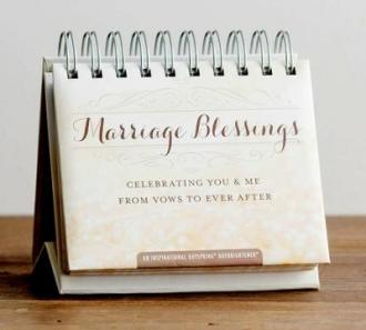 70943 Bordkalender - Marriage Blessings Celebrating You & Me From Vows To Ever After