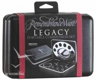 Portabelt Nattverdsett - The Legacy Remembrance Ware (6 cup)