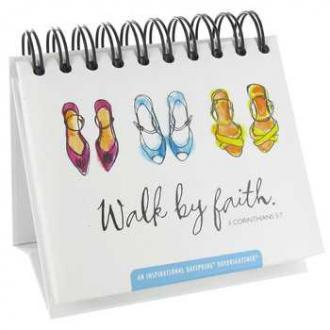 75618 Bordkalender - Walk By Faith