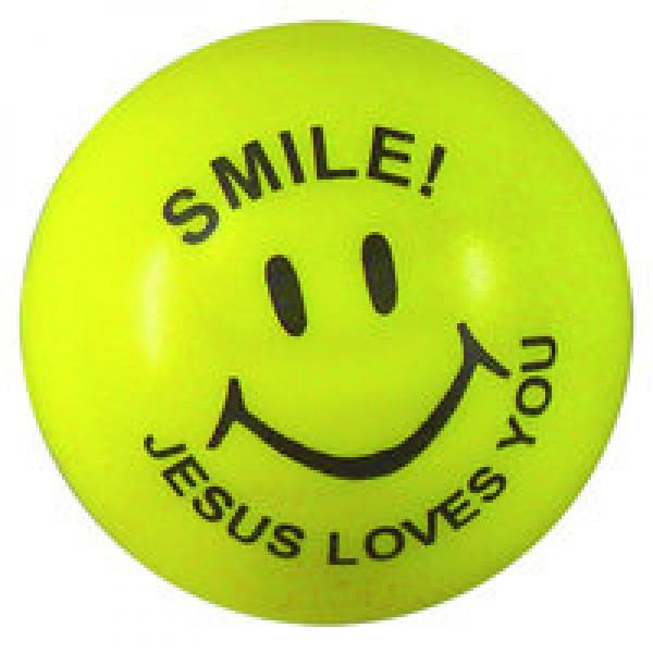 80102624 Gul Stressball - Smile