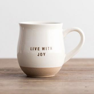 84508 Kopp (Clay Dipped) - Live With Joy (300 ml)
