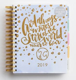 85532 Dagplanlegger 2019 - (in)courage God Always Writes Stories The World Need To Hear