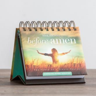 88975 Bordkalender Max Lucado - Before Amen