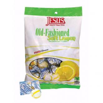 896630 Scripture Candy Bag - Soft Lemon Old Fashioned 172 gr