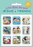 940665 Klistremerkesett - Jesus & Friends (54 stickers)
