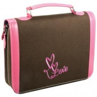 BBL 319 Bibeltrekk Large - Canvas Rosa