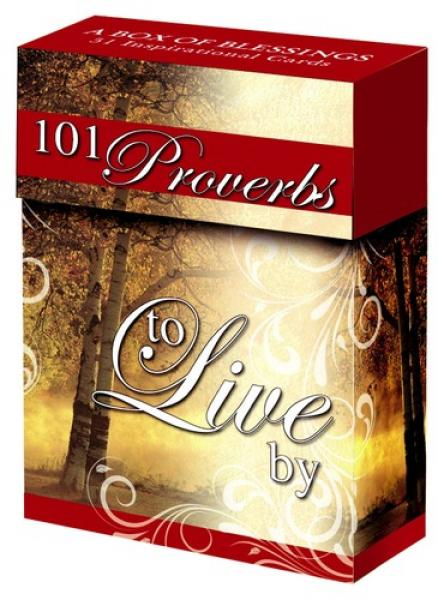 BX 041 Blessing Box - 101 Favorite Proverbs To Live By